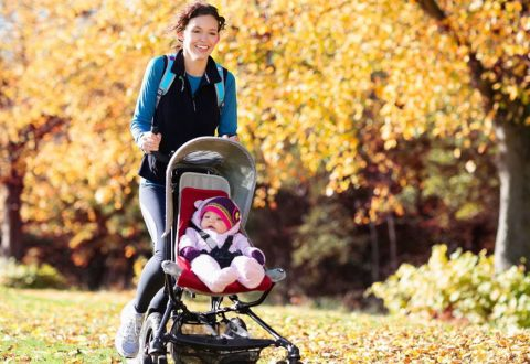 Is it necessary to run while breastfeeding?